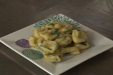 Recette de pommes dauphines aux épinards facile et rapide