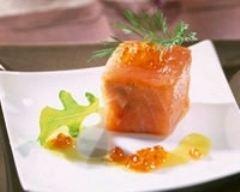 Recette terrine de saumon de norvège fumé au saumon de ...
