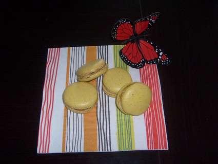 Recette macarons chocolat menthe (macaron)