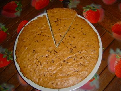 Recette de gâteau speculoos