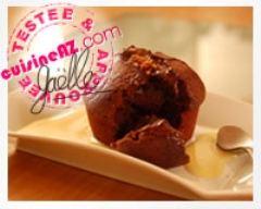 Recette moelleux au coeur coulant de chocolat