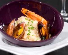 Recette risotto de la mer
