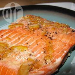 Recette saumon minute à la marmelade d'orange – toutes les ...