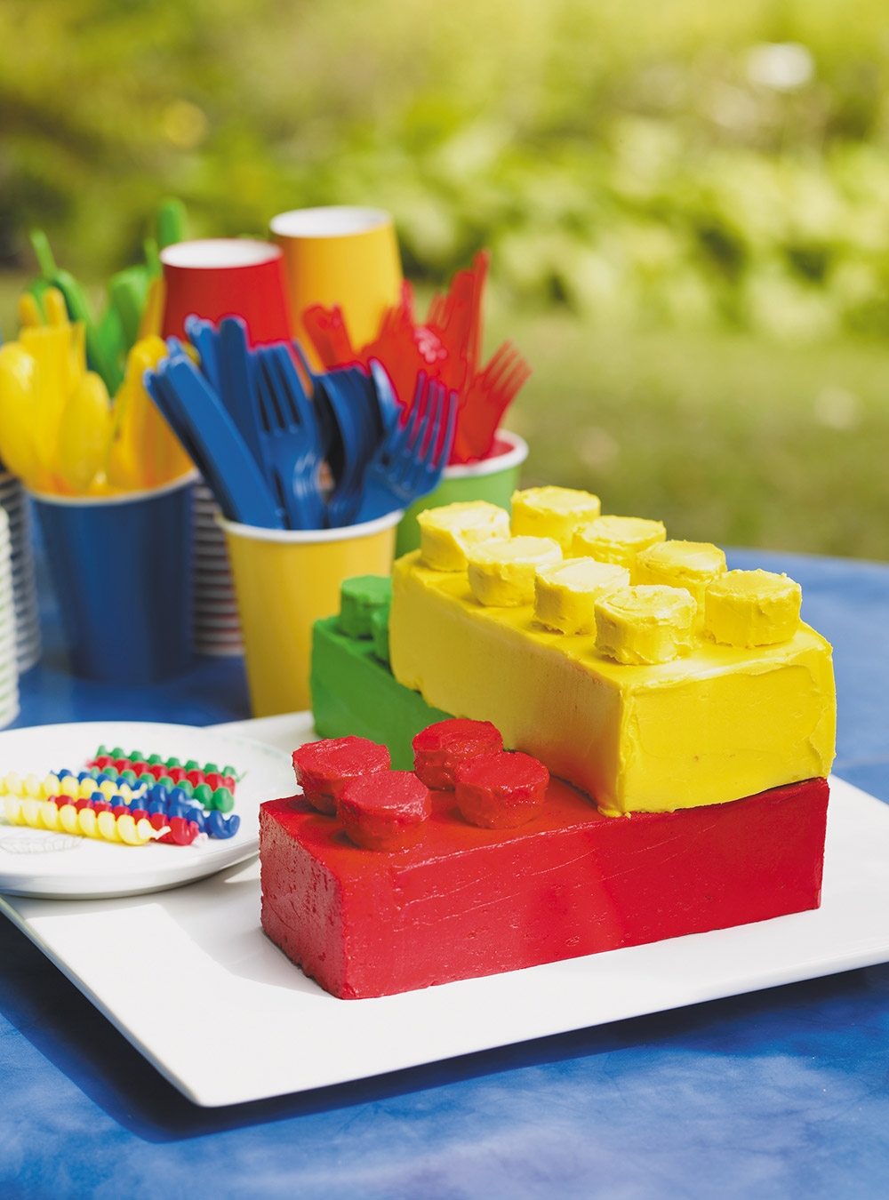 Gâteau lego | ricardo
