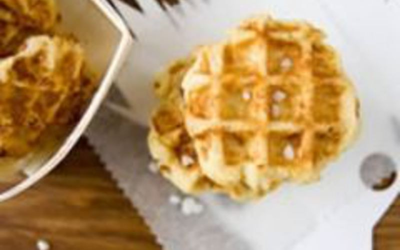 Recette gaufres liegeoises pas chère et rapide > cuisine étudiant