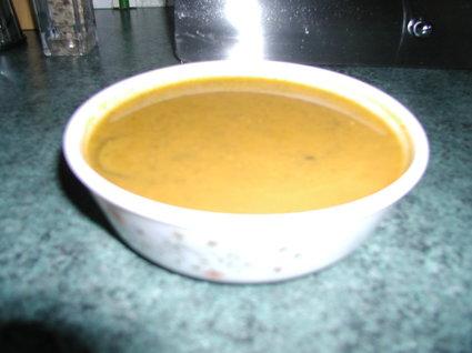 Recette de soupe de courgettes