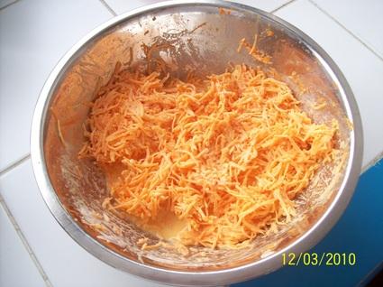 Recette de carottes râpées