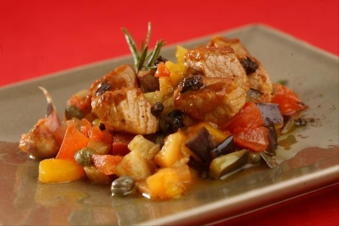 Recette de sauté de veau minute, légumes à la provençale, olives ...