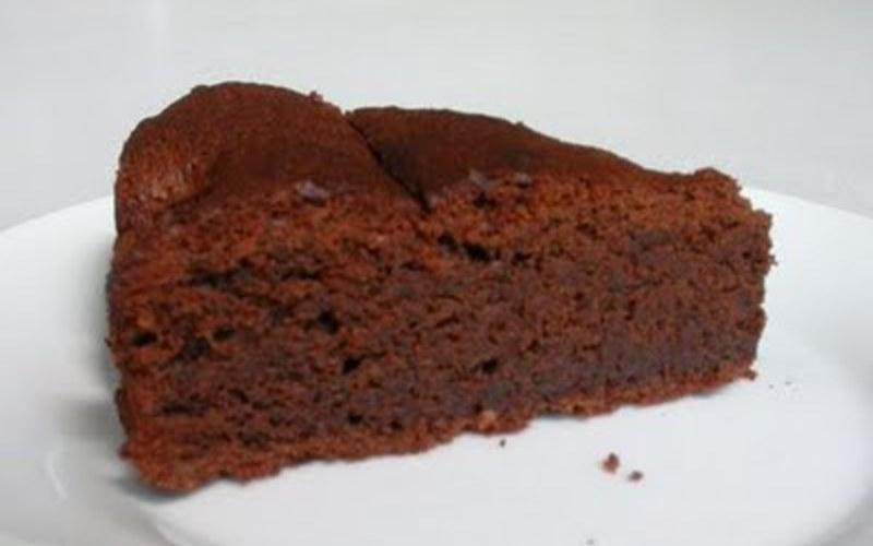 Gâteau au chocolat en poudre sans oeuf
