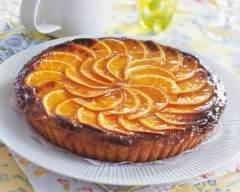 Recette tarte à l'orange sucrée