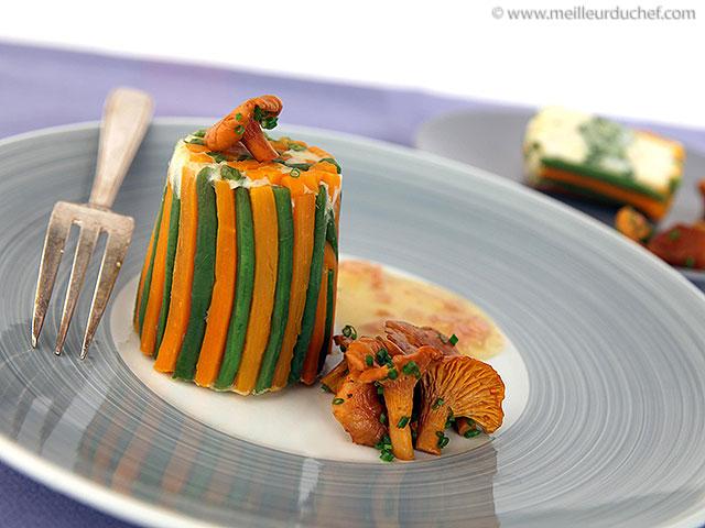 Dariole de saint-jacques au safran, aux légumes  fiche recette ...