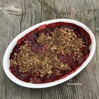 Recette crumble aux fraises (crumble)