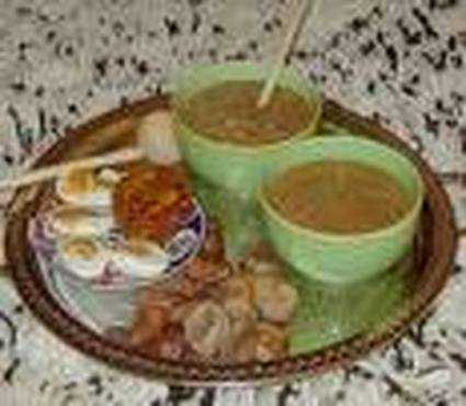 Recette de soupe marocaine