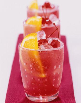Recette de cranberry collins