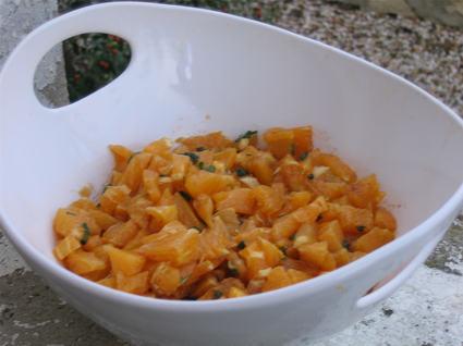Recette de salade d'oranges