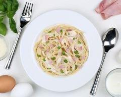 Recette one pot pasta à la mozzarella et au jambon