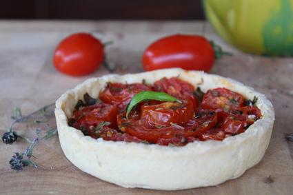 Recette de tartelettes aux tomates et pesto