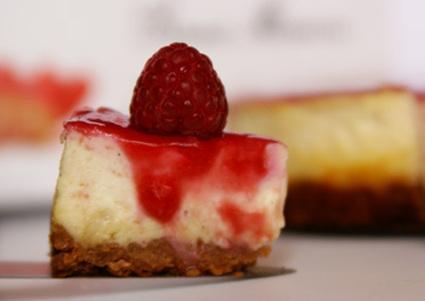 Recette de cheesecake framboises et chocolat blanc