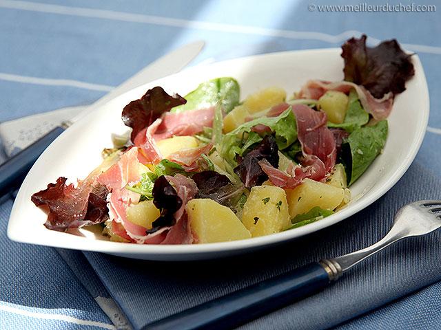 Salade de pommes de terre  fiche recette avec photos ...