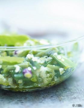 Taboulé de quinoa très vert pour 6 personnes
