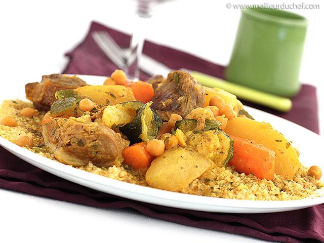 Couscous  la recette avec photos  meilleurduchef.com