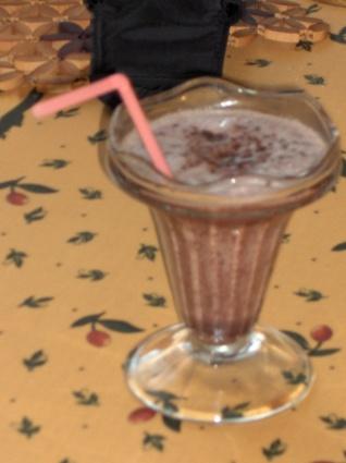 Recette de milk-shake au chocolat