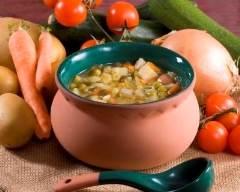 Recette soupe aux chou et poireaux