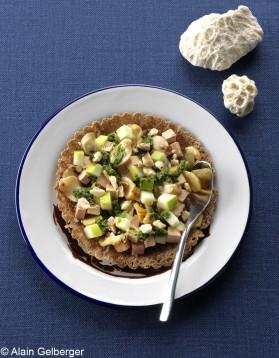 Tartelettes de bulots et foie gras pour 4 personnes
