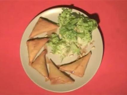 Recette de samossas aux légumes