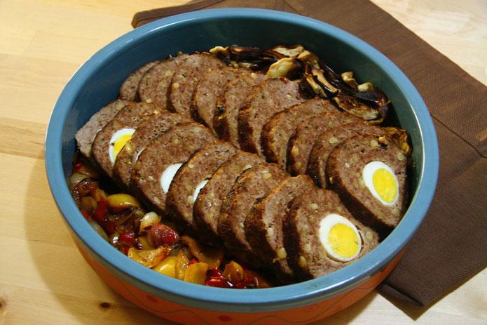 Polpettone : pain de viande à la napolitaine