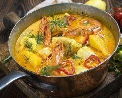Recette moqueca de peixe (ragoût de poissons brésilien)