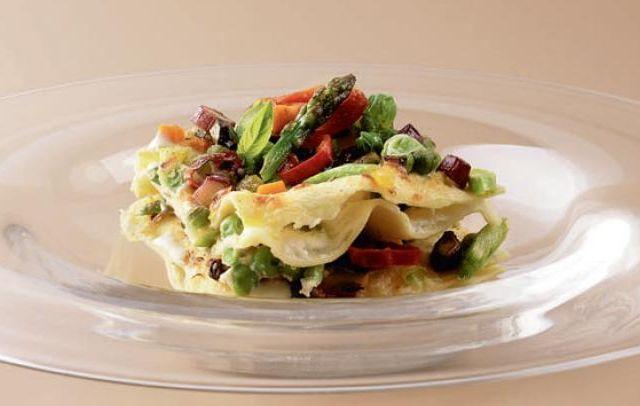 Recette lasagne gratinées aux légumes