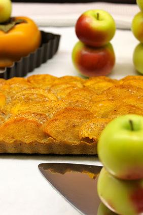 Recette de tarte frangipane aux agrumes et fuyus
