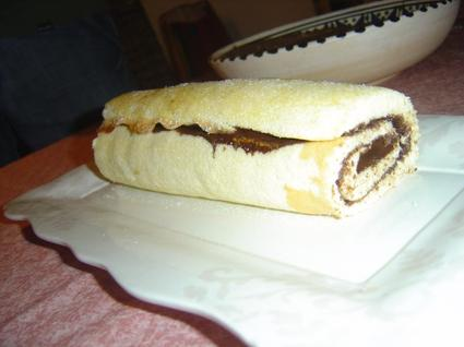 Recette de gâteau roulé au nutella ultra simple
