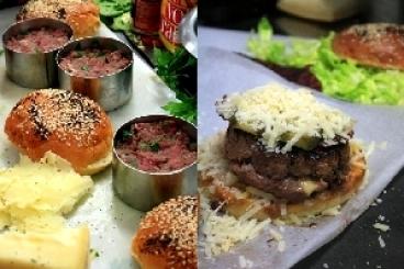 Recette de bacon quarter-pounder with cheese burger rapide