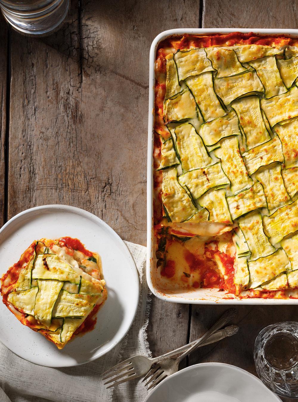 Lasagne crémeuse aux légumes rôtis | ricardo