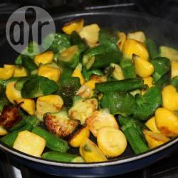 Recette poêlée de mini pâtissons et courgettes – toutes les recettes ...