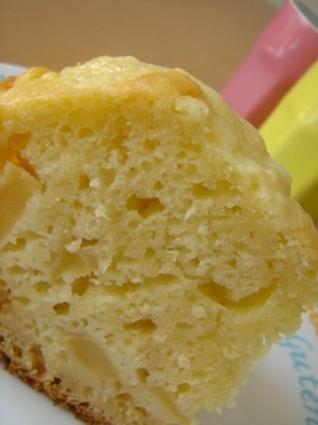 Recette de cake aux pommes express