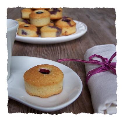 Recette financiers aux myrtilles (biscuits)