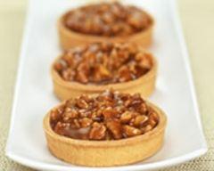Recette tartelettes aux noix et au caramel