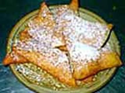 Recette de bugnes lyonnaises au zeste de citron