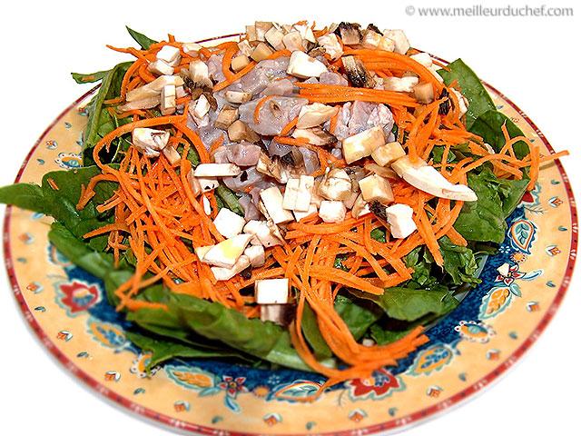 Salade de thon mariné  la recette illustrée  meilleurduchef.com