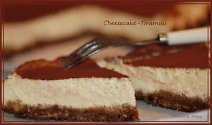 Recette de cheesecake façon tiramisu