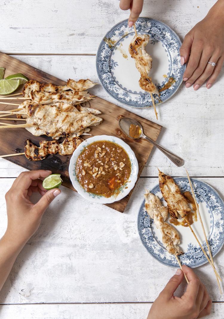 Recettes/viande/brochettes-de-poulet-satay-la-noix-de-coco-sauce ...