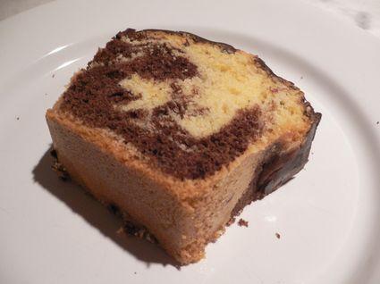 Recette de gâteau marbré moelleux