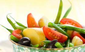 Salade aux haricots verts pour 4 personnes