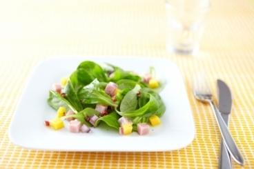 Recette de salade fraîcheur jambon mangue facile et rapide