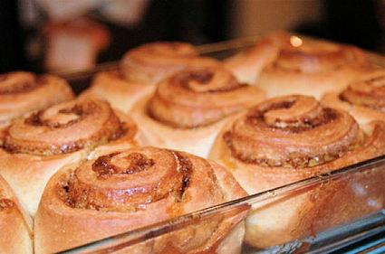 Gâteaux roulés à la cannelle (cinnamon rolls)