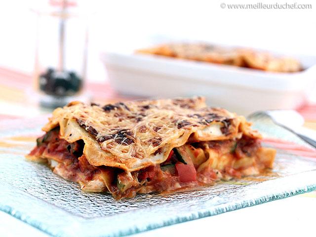 Lasagnes aux légumes  fiche recette avec photos  meilleurduchef ...