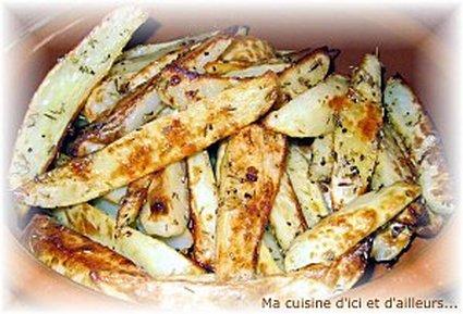 Recette de potatoes maison aux herbes de provence et paprika